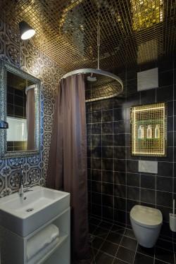 Badezimmer mit MALIN+GOETZ-Produkten